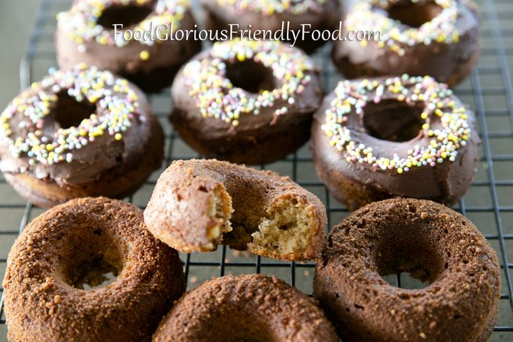 Happy Tummies Doughnuts!  An amazing gluten/dairy/refined sugar/ additive free doughnut recipe from Lisa at Happy Tummies.  Sure to make the kids happy :-)   http://www.foodgloriousfriendlyfood.com/blog-and-recipes/happy-tummies-doughnuts