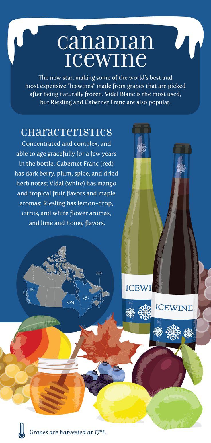 An Ice Wine Primer: Wine's Frozen Delight #Wine #Wineeducation