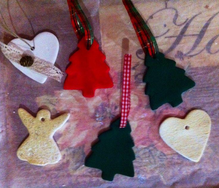 Christmas mood |handmade ornaments for #christmas #tree #decoration #decor #diy #crafts