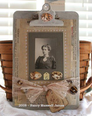 Click on this photo for tons of ideas for scrapbook layouts for old family photos. It inspires me to get back to the scrapbooks of my ancestors nearly 100 years ago.