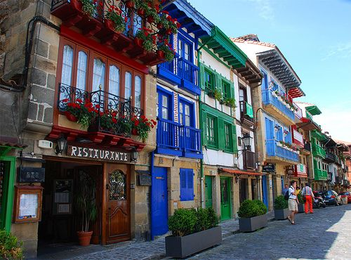 Where I once lived...Hondarribia. Probably one of the world's most enchanting towns.