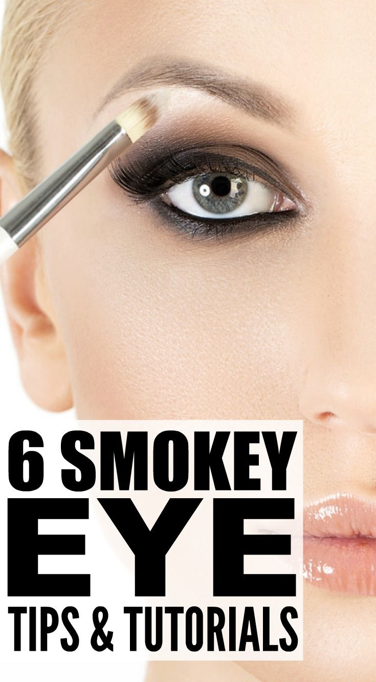 6 Smokey Eye Tutorials and Tips We Love | Easy smokey eye ...