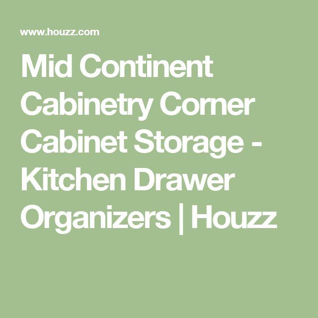 Mid Continent Kitchen Cabinets: 17 Best Ideas About Corner Cabinet Storage On Pinterest
