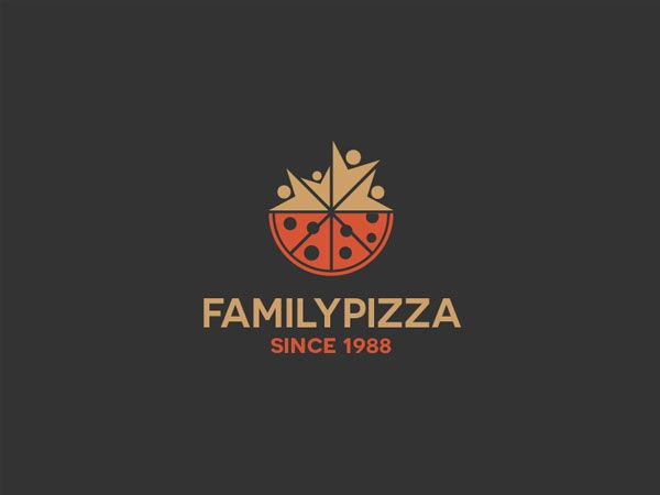 Family-Pizza-Logo-Design