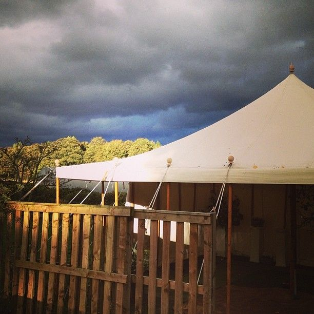Tent in the Orchard @ Askham Hall