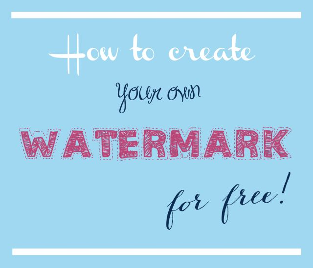 watermark your paper