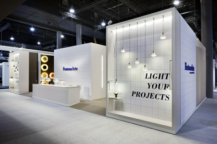 Exhibition Stand Lighting Qld : Lightyourprojects fontanaarte stand at light building