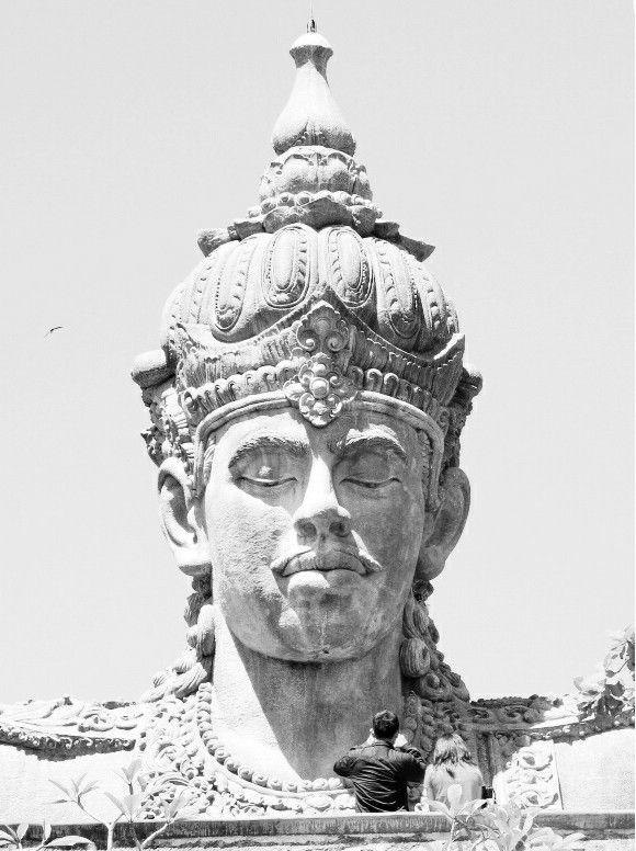 Garuda Wisnu Kencana. Bali