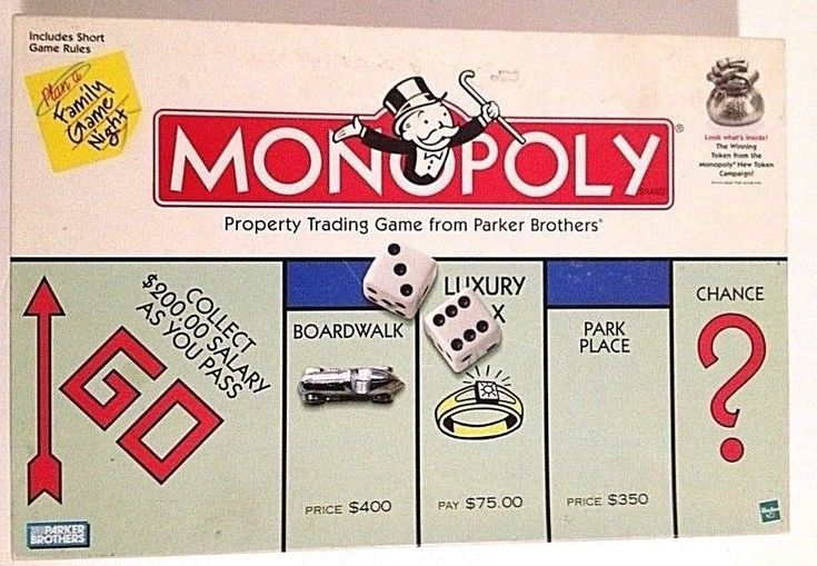 1998 Parker Brothers Classic MONOPOLY Game - Money Bag Token - #ParkerBrothers
