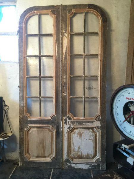 Antieke deuren - Geëtst glas - Collection -  Benko oude antieke bouwmaterialen