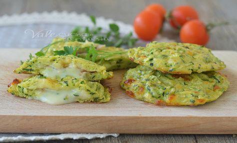 MEDAGLIONI DI ZUCCHINE al forno con prosciutto e mozzarella, velocissimi, facilissimi, gustosi, ricetta con le zucchine velocissima