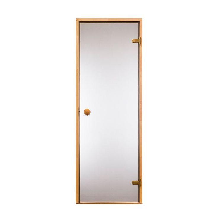 Bastudörr Trend Rökglas, finns i måtten 7x19 och 7x20.