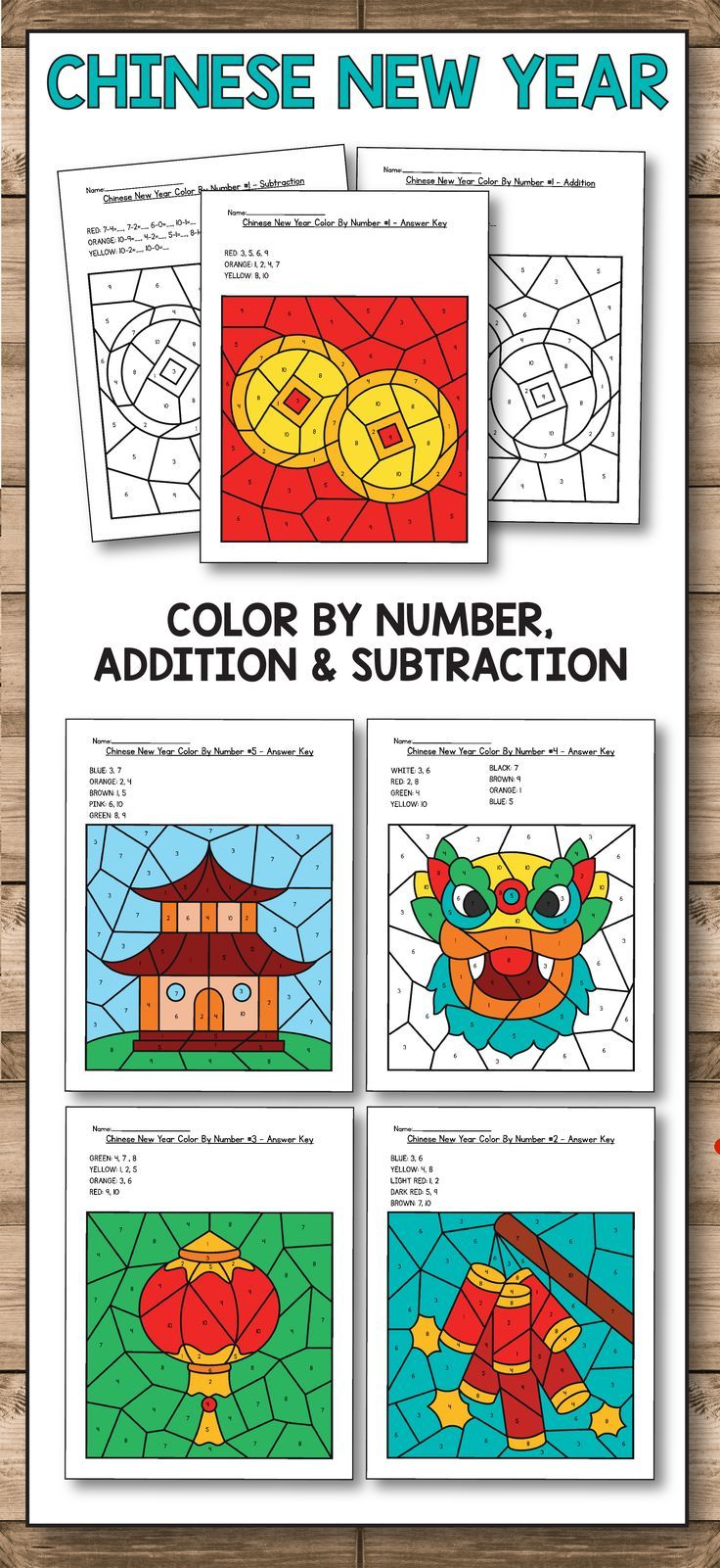Chinese New Year 2018 Chinese New Year Worksheets Are The Perfect Activities For Preschool Chinese New Year Activities New Years Activities Chinese New Year [ 1601 x 736 Pixel ]