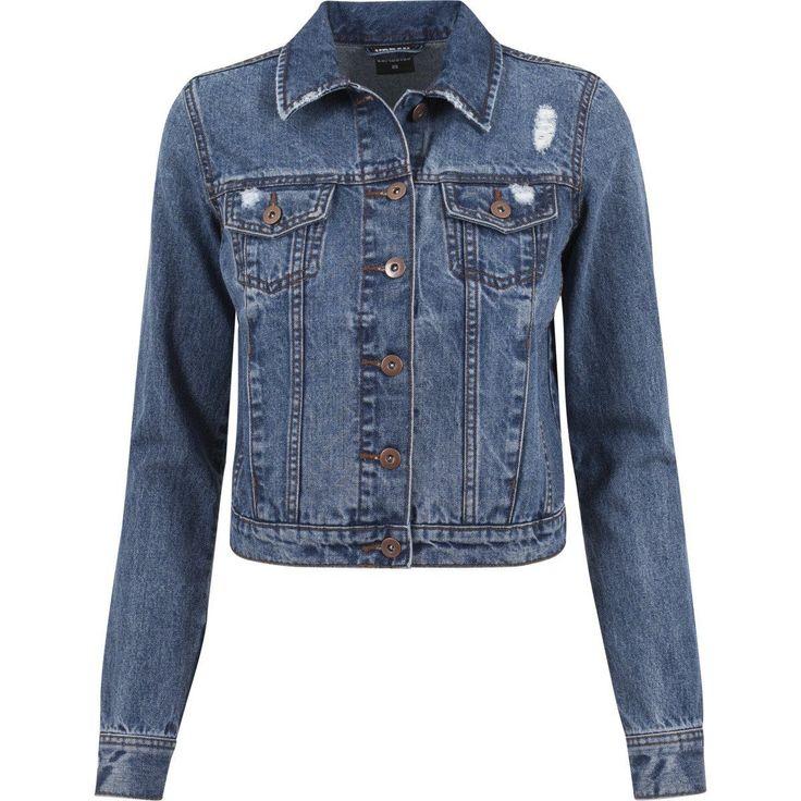 Urban Classics Ladies - Denim Jacket Ocean Blue