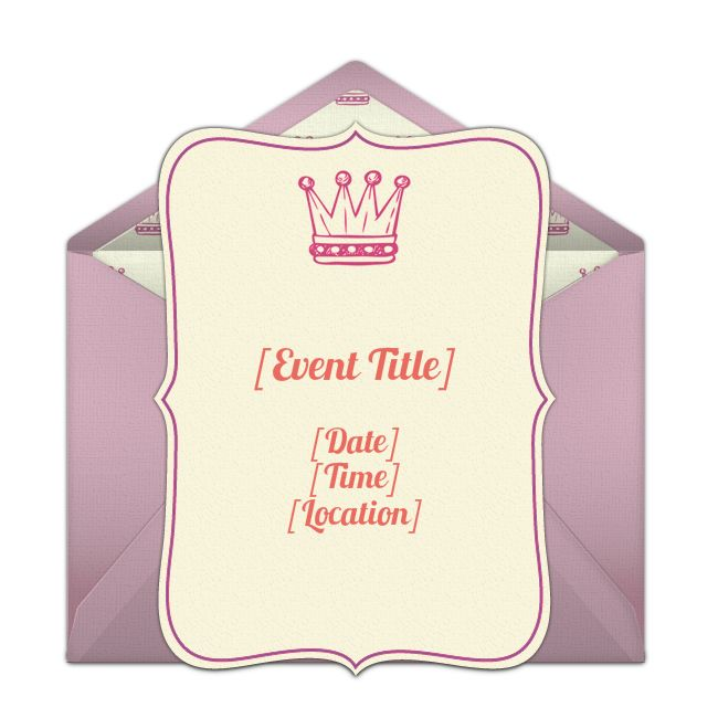 194 best Princess Birthday Ideas images – Punchbowl Birthday Invitations