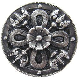 Perfect Celtic Shield Cabinet Knob In Antique Pewter, From Notting Hill Decorative  Hardware