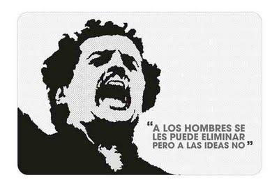 """""""A los hombres se les puede eliminar pero a las ideas no"""" Luis Carlos Galán"""
