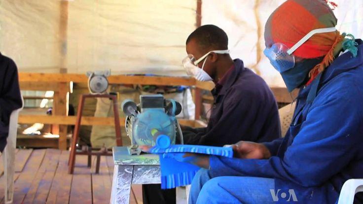 Kenya's FlipFlop Recycling Company turns Ocean's Trash to Treasure