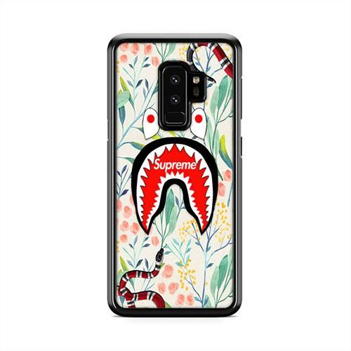 more photos 67e40 0be32 Supreme Gucci Snake Shark Bape Botanical Graden Samsung Galaxy S9 ...