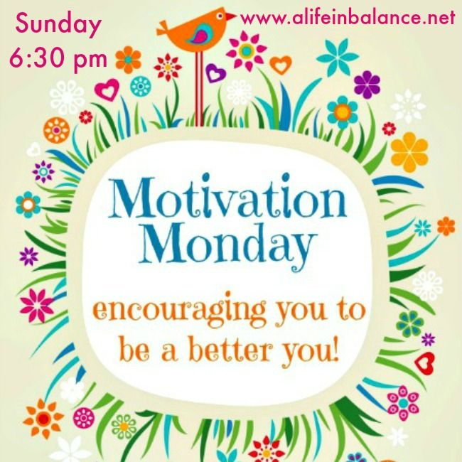Welcome to a new week of Motivation Monday! Last week, 460 links were shared at Motivation Monday. That's pretty amazing.We've got all kinds of ideas for you this week including:onetwoand threeMotivation Monday is all about inspirational posts, healthy recipes, crafts, ...