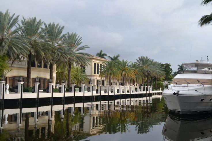 Fort Lauderdale, FL (Американская Венеция - Форт-Лодердейл, Флорида)