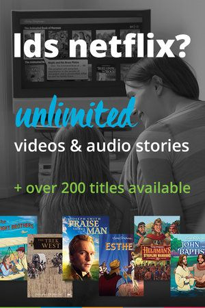 Awesome! Stream Living Scriptures videos and more- it's like having a LDS Netflix (affiliate)