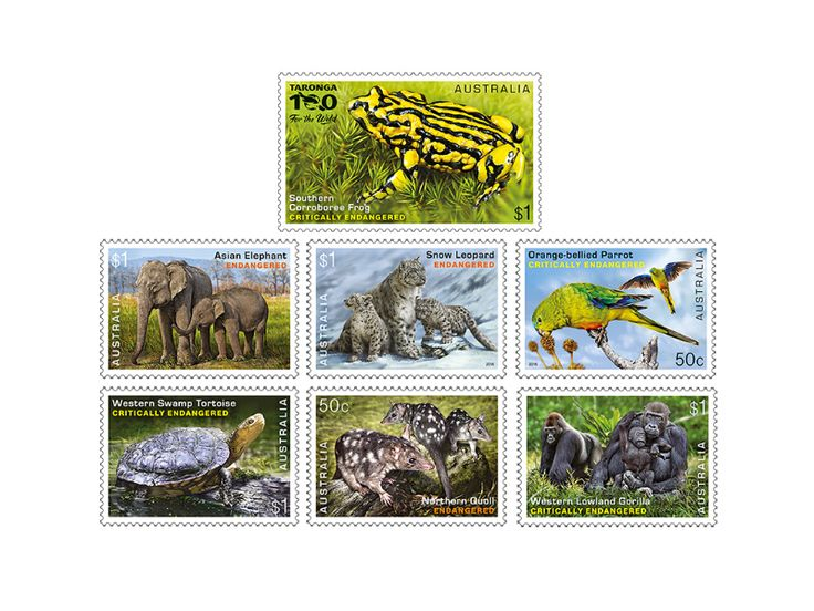 COLLECTORZPEDIA Endangered Wildlife