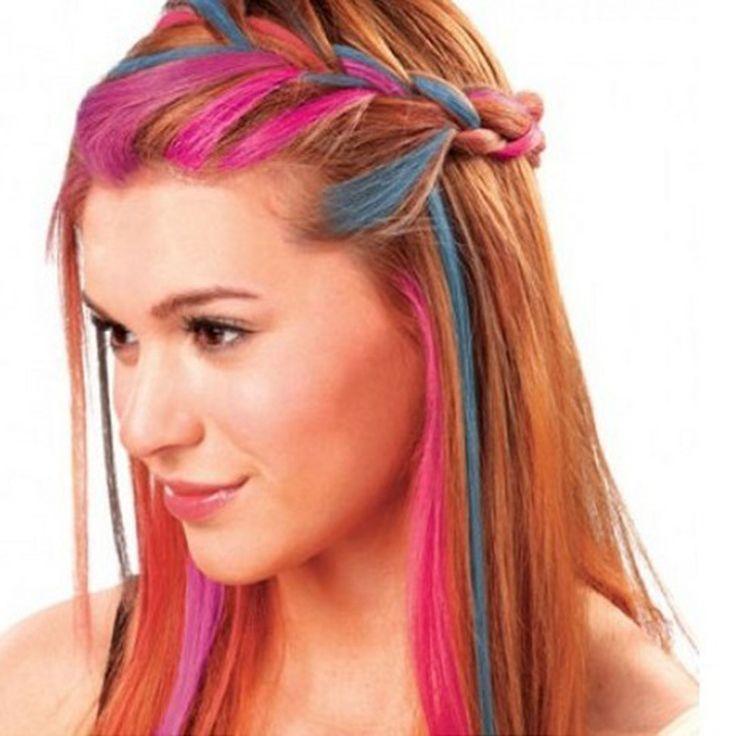 4 Colors/Set Hair Powder Hair Chalk Dye Soft Pastels Salon Hair Color Crayons Fashion Christmas Diy Temporary