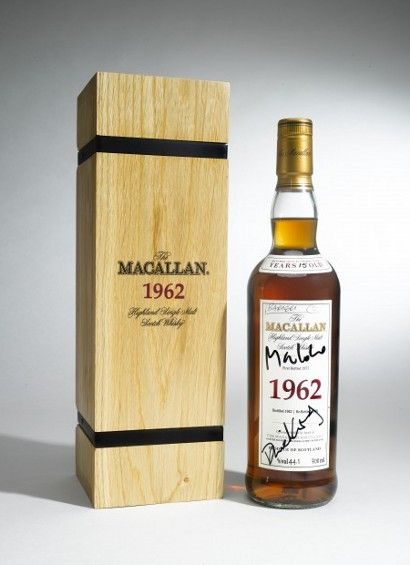 James Bond whisky auctions at Sotheby's on April 17