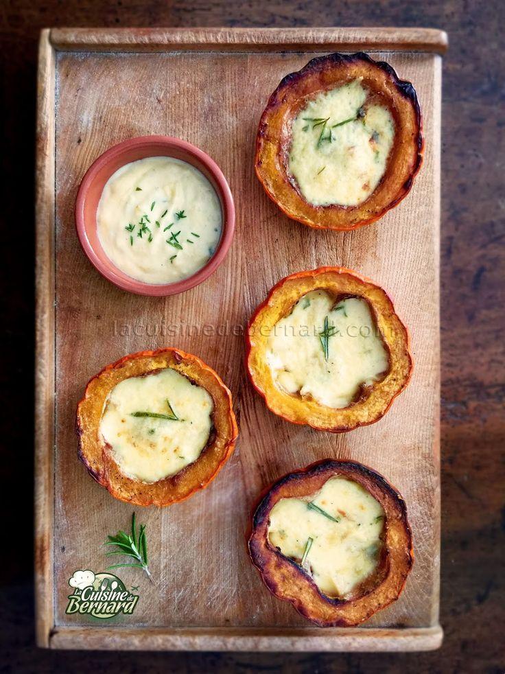 La Cuisine de Bernard : Jack Be Little rôtis à la crème d'ail et romarin