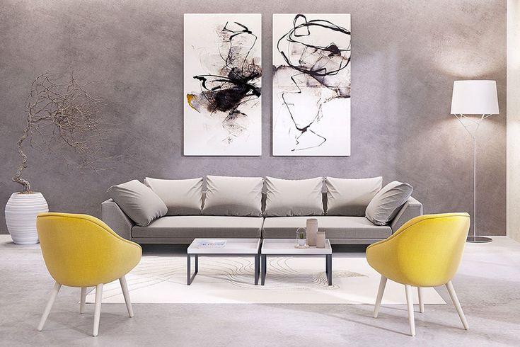Quadri per soggiorno moderno 24