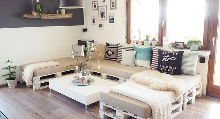 DIY in Perfektion und zwar in der ganzen Wohnung!   #Wohnideen #Inspiration #DIY