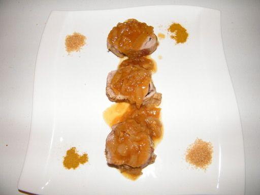 Filet mignon de porc au miel - Recette de cuisine Marmiton : une recette