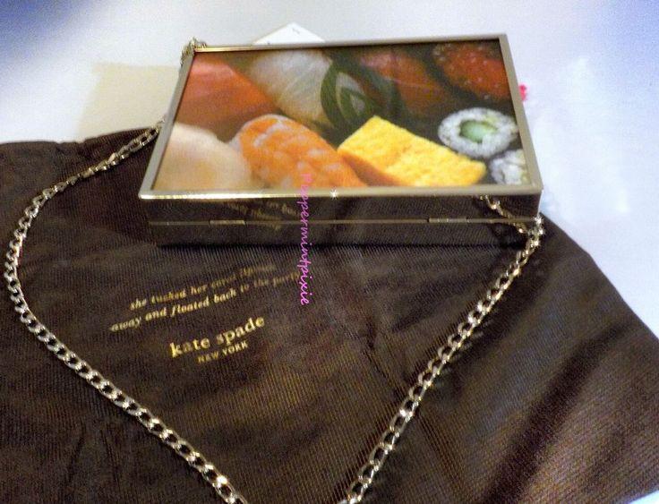 Kate Spade Shoulder Bag Clutch Hello Tokyo Sushi PXRU5193 $348-sale  Love Sushi? #katespade #ShoulderorClutchBag