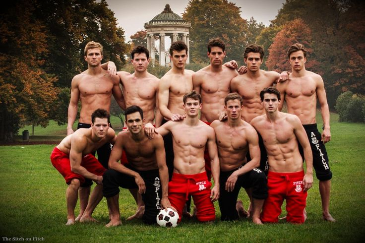 Abercrombie and Fitch Guys | Top row: unknown model, Simon Evans, Jim M., Morten J., unknown model ...