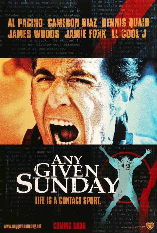 Any Given Sunday (1999) #1990s #1999 #Al-Pacino