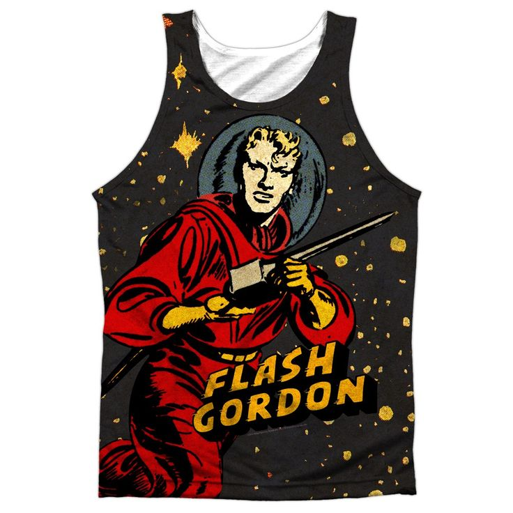 "Checkout our #LicensedGear products FREE SHIPPING + 10% OFF Coupon Code ""Official"" Flash Gordon/blast Off-adult Poly Tank T- Shirt - Flash Gordon/blast Off-adult Poly Tank T- Shirt - Price: $24.99. Buy now at https://officiallylicensedgear.com/flash-gordon-blast-off-adult-poly-tank-t-shirt-licensed"
