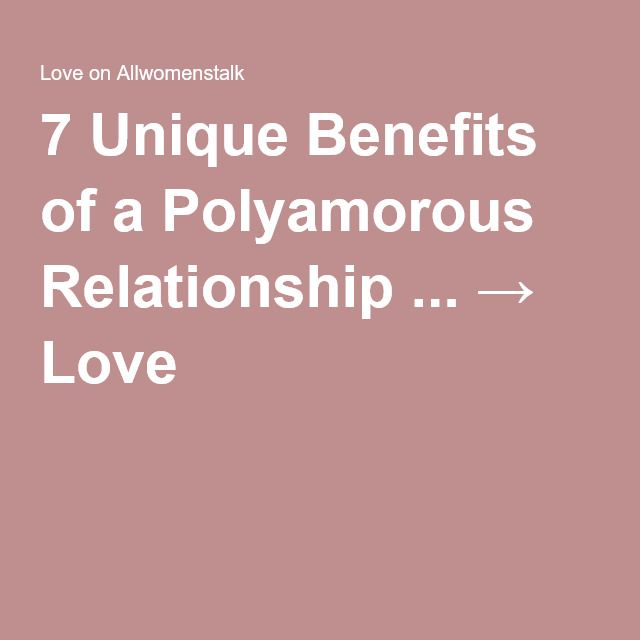 polyamorus relationships