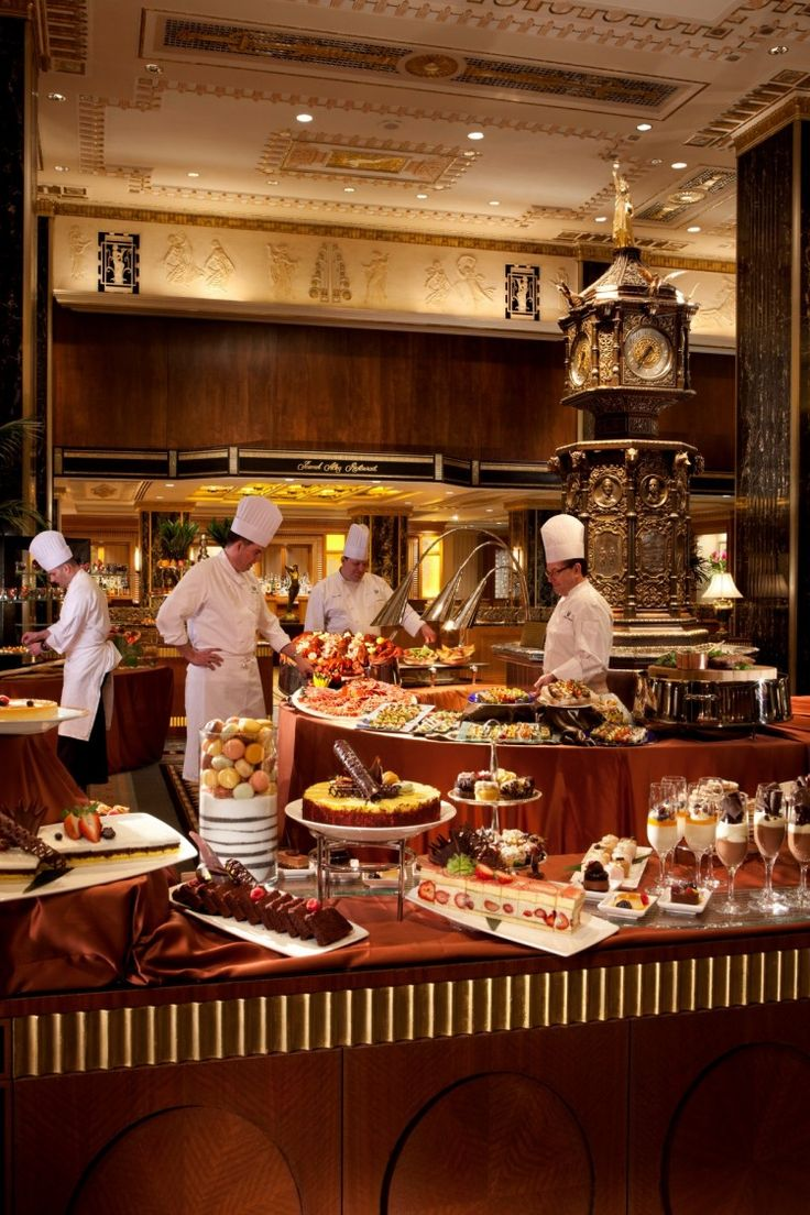 Executive Chef David Garcelon Oversees Venerable Sunday Brunch in NYC Waldorf Astoria #WaldorfAstoria
