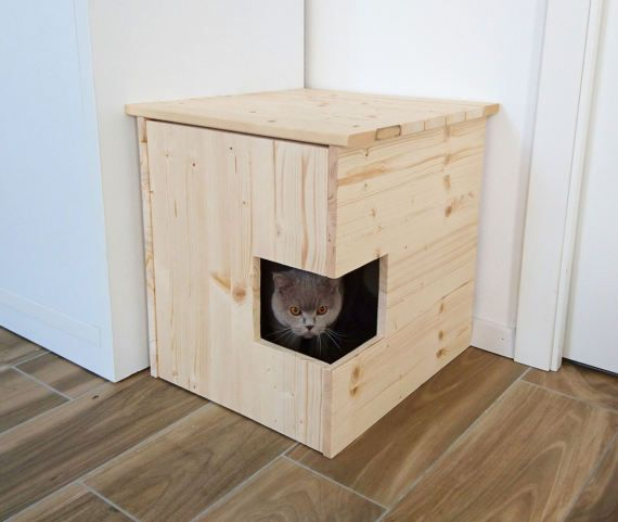 57 best Litter Box Cabinet images on Pinterest