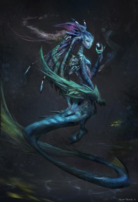 Alien Mermaid