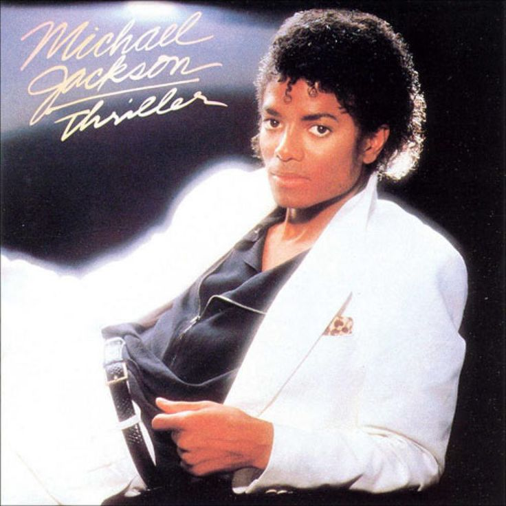 Iconic Album Covers - Michael Jackson's Thriller