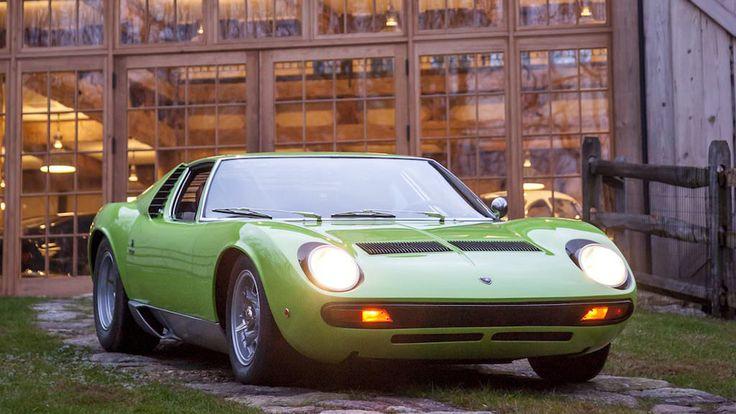 Photos: 1969 Lamborghini Miura P400S 'SV Specification'