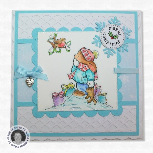 Pachela Studios Digi Stamp - Toby Tumble Hello There! < Shop | Cuddly Buddly Crafts