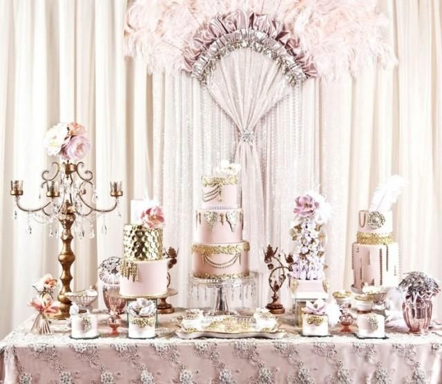Elegant Dessert Tablescape