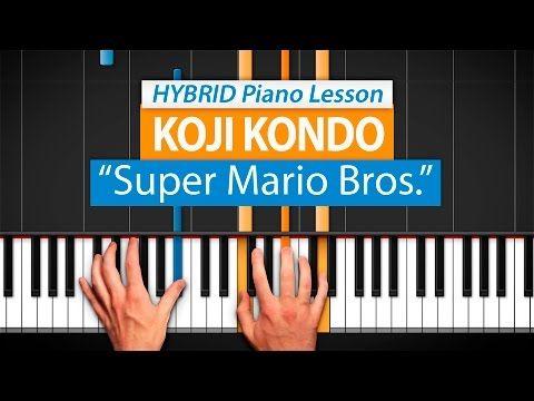 "(6) How To Play ""Super Mario Bros. Main Theme"" by Koji Kondo | HDpiano (Part 1) Piano Tutorial - YouTube"