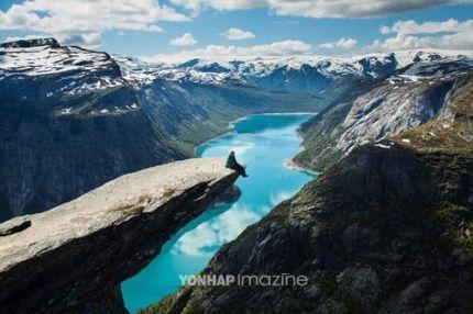 '아찔한 아름다움' 노르웨이 명품 하이킹 코스