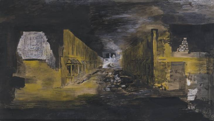 Graham Sutherland - Devastation 1941 East End Street
