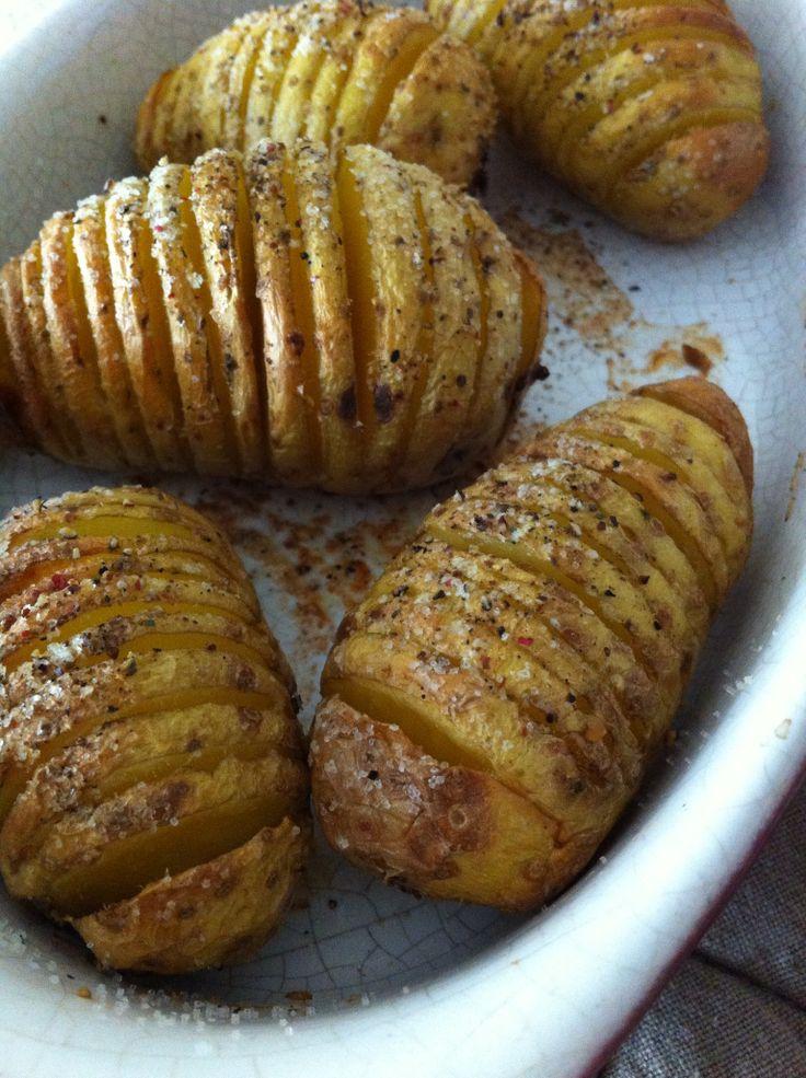 Pommes de Terre Hasselback : cuisson à la mode Suédoise
