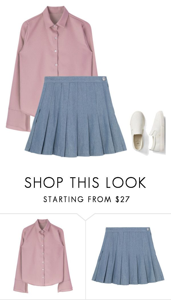 """""""K style pt. 1"""" by ifrancesconi on Polyvore featuring Gap"""